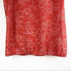 Halogen Tops - Halogen Floral Print Blouse
